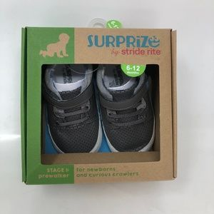 New Stride Rite Surprize Baby Boy Shoes 6-12 Month